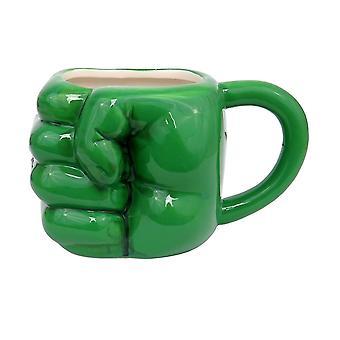 Hulk Pugno Smash Tazza Scupled