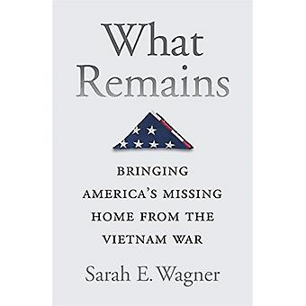What Remains by Sarah E Wagner
