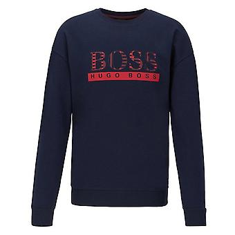 Hugo Boss Leisure Wear Hugo Boss Men's Dark Blue Authentic Sweatshirt