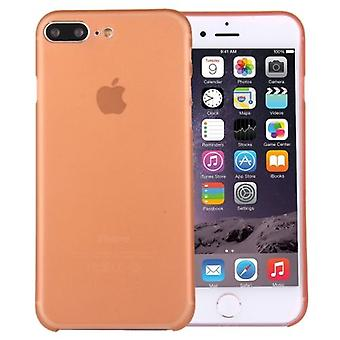 Para iPhone 8 PLUS,7 PLUS Case, Elegante Ultra-fino Ultra-leve Capa Dura, Laranja