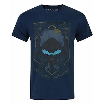 Halo 5 Locke HUD Helmet Men's T-Shirt
