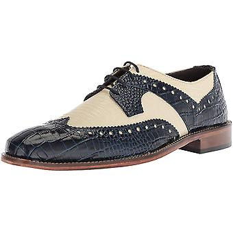 Stacy Adams Mens 25167-111 Leder Kant Omhoog Casual Oxfords