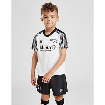 New Umbro Infant Derby County FC 2019/20 Home Kit White