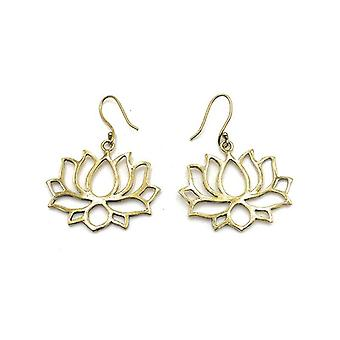 Avery and May Handmade Lotus Filigree Earrings for Women