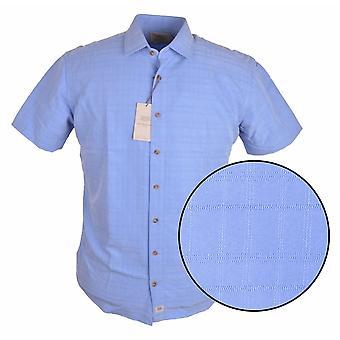 BAR HARBOUR Bar Harbour Check Pattern Short Sleeve Shirt