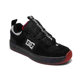 DC Lynx OG Trainers in Black/Dk Grey/Athletic Red