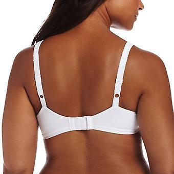 Bali Women's Passion for Comfort Underwire Bra, White, 40D, White, Size 40D