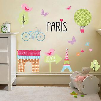 Ready Steady Bed® Children es Paris Design Vinyl Wall Sticker