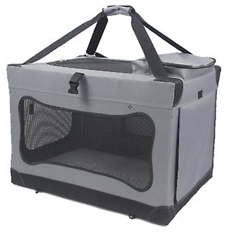 Mr. peanut's soft sided pet carrier crate with lightweight aluminum frame