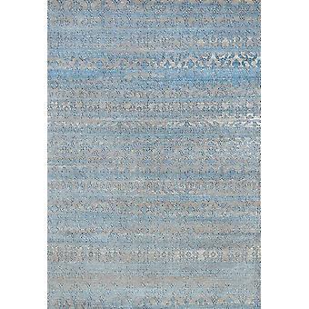 22& x 36& x 0.43& Aqua polypropeeni / polyesteri aksentti matto