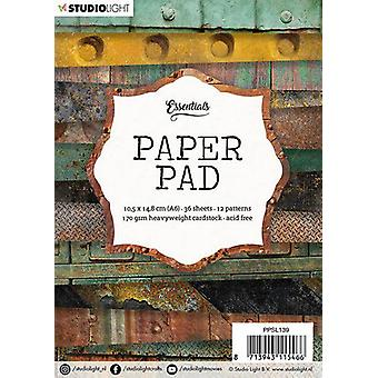 Studio Light A6 Paper Pad 36 Sheets 12 Designs Number 139
