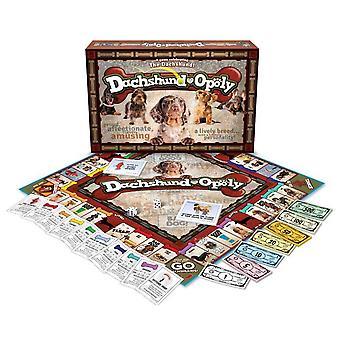 Dachshund-opoly Board Game
