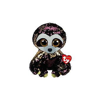 Ty Flippables TY36780 Dangler the Sloth Soft Toy 23 cm