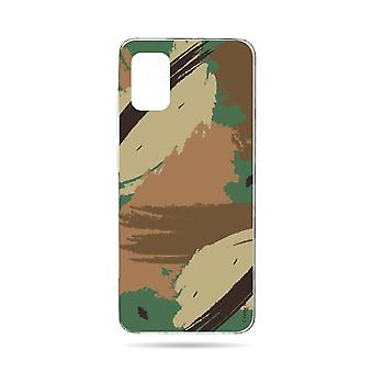 Hull For Samsung Galaxy A51 Soft Camouflage