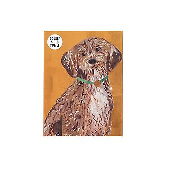 Jigsaw Puzzles Double Sided Dog Cockapoo Party Fun Games 100 Pieces