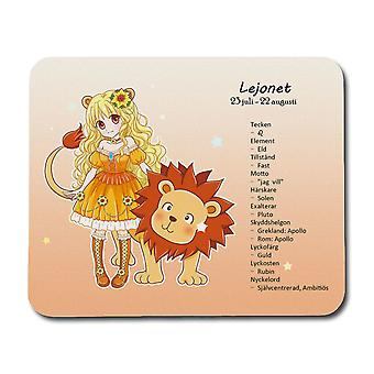 Drăgălaș Zodiac Semn Lion Mouse Mat