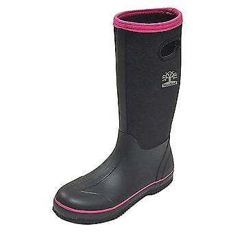 Woodland Womens/Ladies Pull On Plain Design Wellington Boots