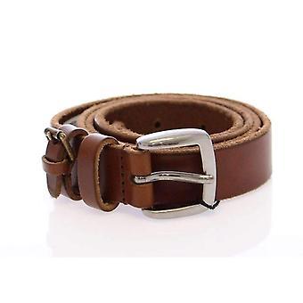 حلو & براون غابانا جلدية شعار الحزام-BHD1057861