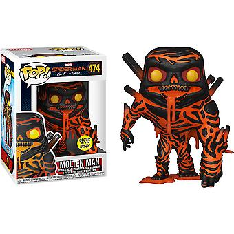 Spider-Man Far From Home Molten Man Glow US Excl Pop! Vinyl