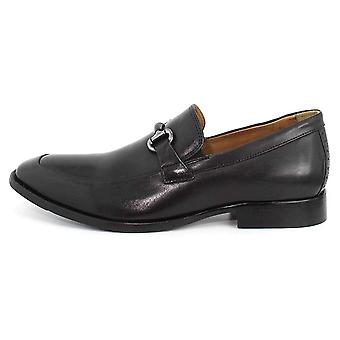 Johnston & Murphy Mens Sanborn Leather Closed Toe Penny Loafer