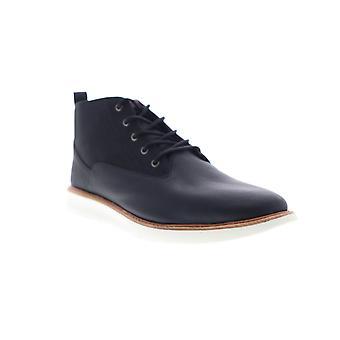 Ben Sherman Omega Casual Chukka  Mens Black Leather Chukkas Boots