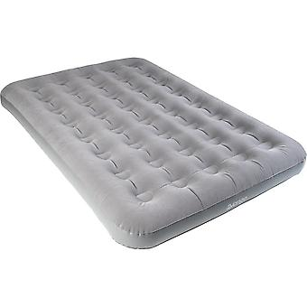 Vango Double Flocted Airbed - Nocturne Grey - Moyen