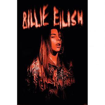 Billie Eilish Poster Sparks 95