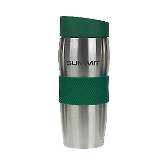 Top Thermal Travel Coffee Cup Mok Dubbele ommuurde Lek Bewijs 380ml Warm Koud - 1 Unit Groene Mok