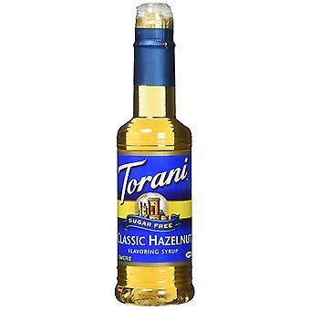 Torani flavoring xarope açúcar livre clássico avelã