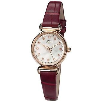 Limit Womens Mother of pearl Stone Set Dial 60043.01 Watch