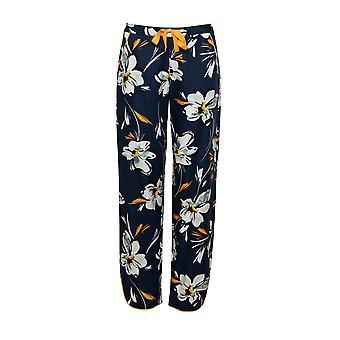 Cyberjammies Alexa 4500 Mujeres's azul marino estampado floral pijama pantalón