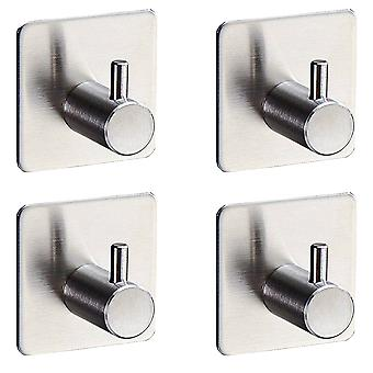 YANGFAN Adhesive Glue Stainless Steel Wall Mounted Towel Hook
