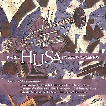 Syracuse University Wind Ensemble - Karel Husa: Trumpet Concertos [CD] USA import