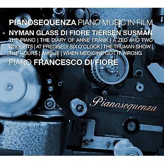 Nyman / Di Diore, Francesco - Pianosequenza - Piano Music in Film [CD] USA import