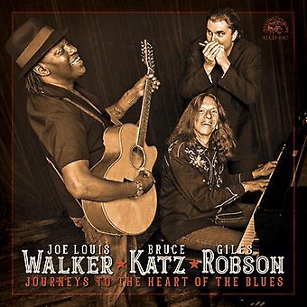 Walker*Joe Louis / Katz*Bruce / Robson*Giles - Journeys to the Heart of the Blues [CD] USA import