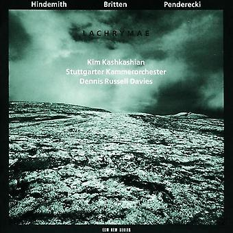 Hindemith/Britten/Penderecki - Lachrymae [CD] USA import