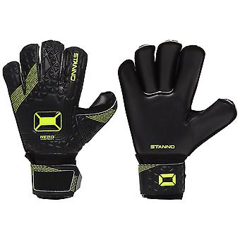 Stanno Nero Roll Finger Junior Goalkeeper Gloves