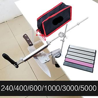 4 Generations Fixed Angle Sharpener- Metal Material Knife Sharpening System
