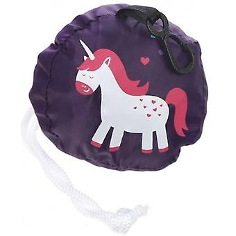 Enchanted Rainbow Unicorn Foldable Bag