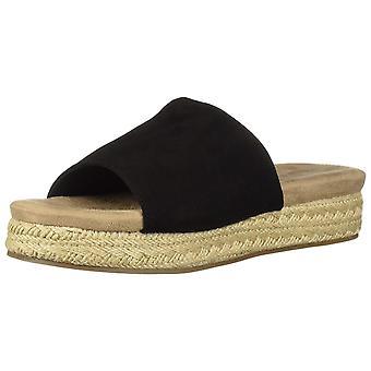 Malanda fille Womens Eltie tissu Open Toe occasionnels Espadrille Sandals