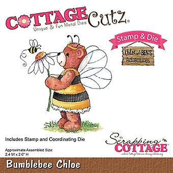 Scrapping Cottage CottageCutz Bumblebee Chloe