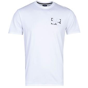 Edwin Yuugure Chest Print White T-Shirt
