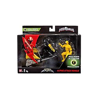 Power rangers - ninja steel - mega morph - alpine attack vehicle