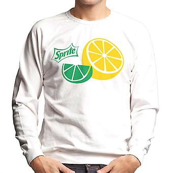 Sprite citroen slice Heren Sweatshirt