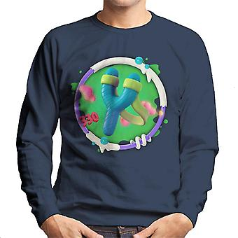 Angry Birds Slingshot 3D Badge Men-apos;s Sweatshirt
