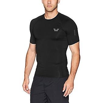 Peak Velocity Men's Sync 'Build Your Own' Compression-Fit Run Shirt (Crew, Mo...