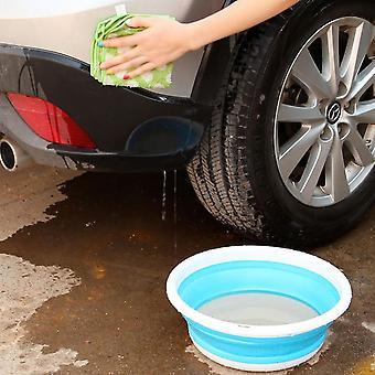 Jednoduché a přenosné skládací kbelík umyvadlo pro kempování rybářské auto mytí