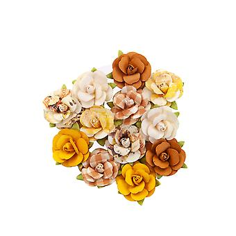 Prima Marketing Herfst Sunset Flowers Harvest Moon