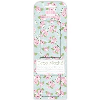 Première édition Deco Mache Roses