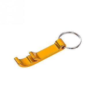 4 In 1 Portable Aluminium Beer Bottle Opener Keychain